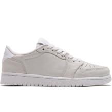 Nike - Chaussures Air Jordan  1 Retro Low No Swoosh blanches Femme