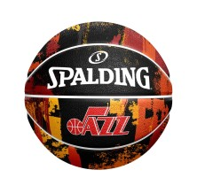 Spalding - Basketball Spalding City Edition Marble Ball Utah Jazz Black