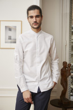 Benklark - Shirt Oxford Col Mao