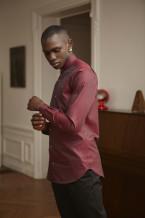 Benklark - Shirt Pearl Burgundy