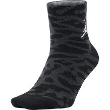 Air Jordan - Chaussettes Air Jordan Elephant Print black-grey Mid