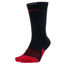Nike - Chaussettes Nike Elite noires-rouges