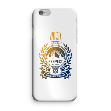"RG27 - Coque Iphone 6/6S ""Respect this house"""