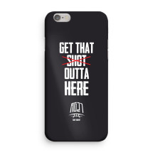 "RG27 - iPhone Case 7+/8+ ""Get that shot outta here"""