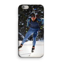 "Martin Fourcade - iPhone Case 7+/8+ ""Entraînement hivernal"""