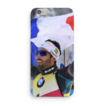 "Martin Fourcade - iPhone Case 7+/8+ ""Victory and pride"""