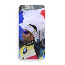 """Martin Fourcade - iPhone Case 7/8 """"Victoire et fierté"""""""