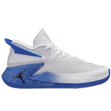 Air Jordan - Chaussures Jordan Fly Lockdown blanches/bleues