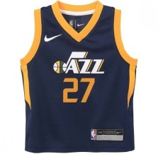 Outerstuff - Basket-Ball Jerseys Kids Outerstuff Tod Icon Replica Jersey Utah Jazz Rudy Gobert Navy