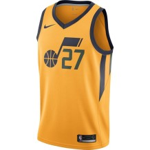 Outerstuff - Basket-Ball Jerseys Kids Outerstuff Yth Statement Swingman Jersey Utah Jazz Rudy Gobert Gold