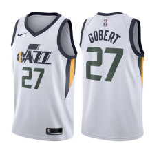 Nike - Maillot Nike NBA Rudy Gobert Utah Jazz Blanc Junior