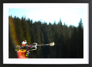 "Martin Fourcade - Poster  ""Extreme concentration"""