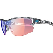 Julbo - Nordic Glasses Julbo Aero Ecaille Gray Zebra Light Red
