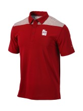 Columbia - Polo Shirts Men Columbia CE Utility Omni Wick Polo Utah Jazz Red