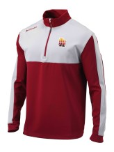Columbia - Jumpers Men Columbia CE Waggle 1/4 Zip Pullover Jacket Utah Jazz Red