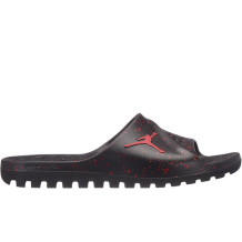 Air Jordan - Sandales Jordan Super.Fly Team Slide Noires/Rouges