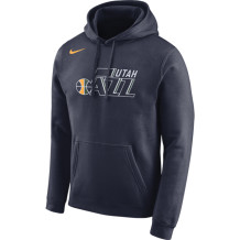 Nike - Sweat à capuche NBA Utah Jazz Dry marine
