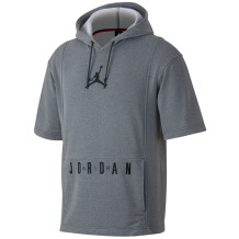 Air Jordan - Sweat manches courtes Jordan Dry BSC gris
