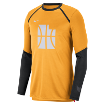 Nike - Long Sleeve Shirts Men Nike City Edition Dry Top Longsleeve Utah Jazz Orange