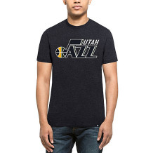 47 Brand - T-shirt NBA Utah Jazz Club marine