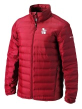 Columbia - Jackets & Coats Men Columbia Lake 22 CE Full Zip Puffer Coat Utah Jazz Red