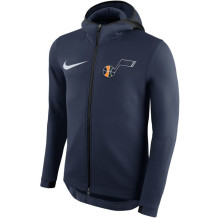 Nike - Veste NBA Utah Jazz Therma Flex Showtime bleue