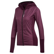 Adidas - Veste nordique Adidas Skyclimb Fleece Jkt Wmn Red Night