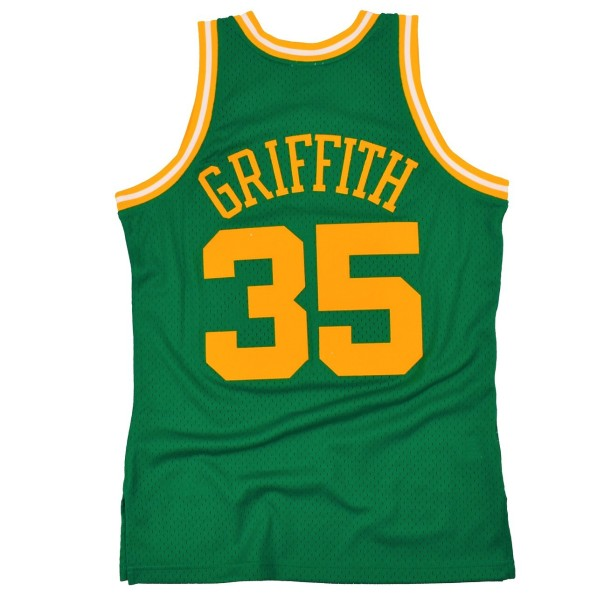 on sale 1bb68 7abb2 Basket-Ball Jersey Man Mitchell & Ness 80s Hardwood Classic Swingman Jersey  Utah Jazz Darrell Griffith Green