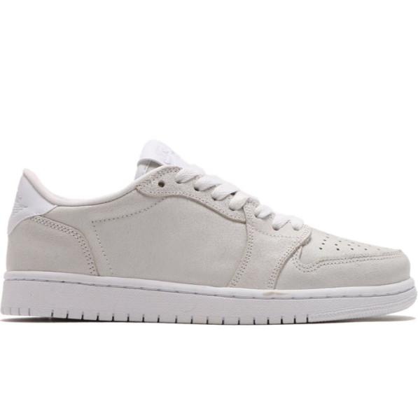 sports shoes 48102 6f917 Shoes Air Jordan 1 Retro Low No Swoosh White Female