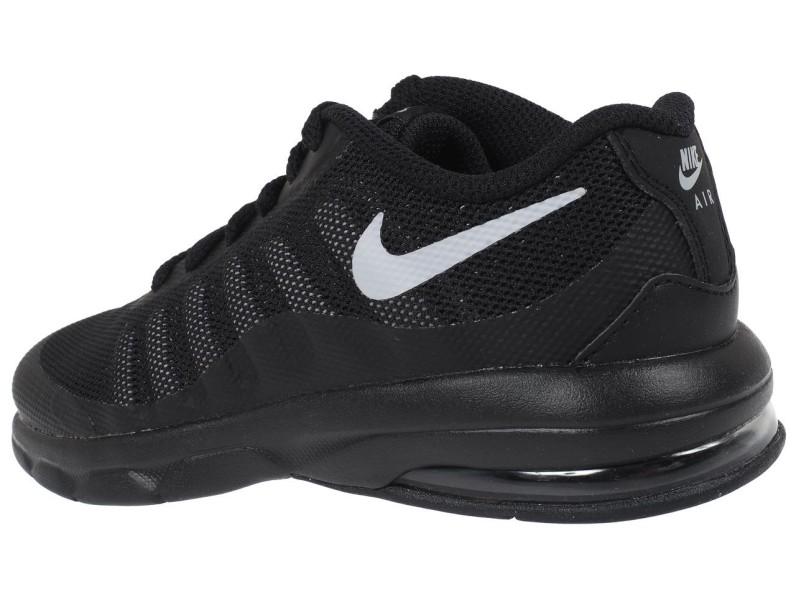 Chaussure Mode Ville Basse Enfant Nike Air max invigor kid blk