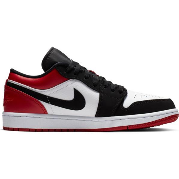 info pour c2155 5f829 Chaussure Air Jordan 1 Low Rouge White pour homme
