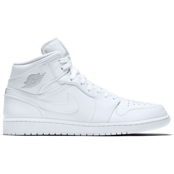 best supplier dirt cheap top brands Jordan Chaussure Air 1 Mid blanc pour homme - Rudy Gobert - tightR