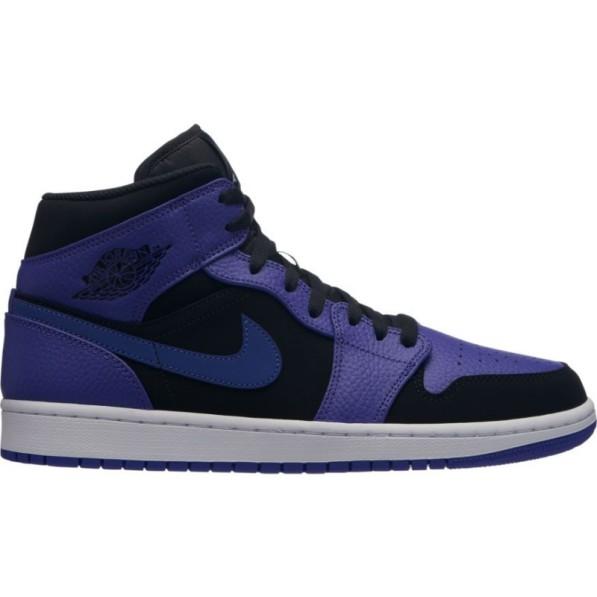 design intemporel 0f729 91349 Chaussure Air Jordan 1 Mid Noir Concord pour homme