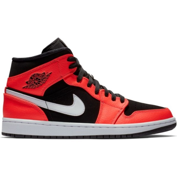 amazon save off new release Chaussure Air Jordan 1 Mid Orange pour homme