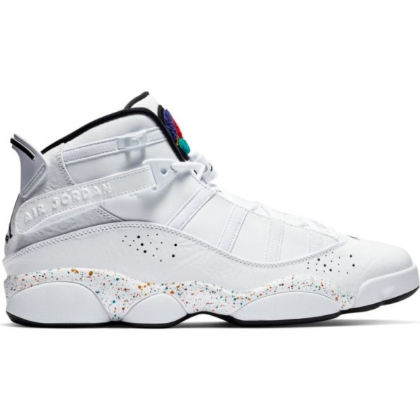 acheter populaire df83f b7b80 Chaussure de Basket Jordan 6 Rings White Speckles Blanc pour homme