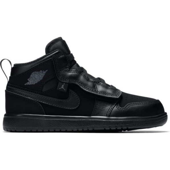 save up to 80% most popular good out x Chaussure de Basket Air Jordan 1 Mid ALT TD Noir pour enfant