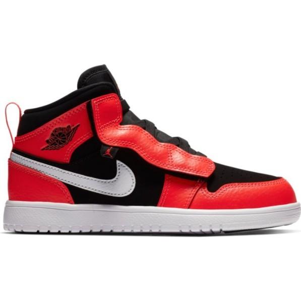 taille 40 f2c06 73f8b Chaussure de Basket Air Jordan 1 Mid ALT TD Orange pour enfant