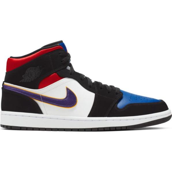 discount sale best price how to buy Jordan Chaussure de Basket Air 1 Mid SE Multicolor pour homme ...