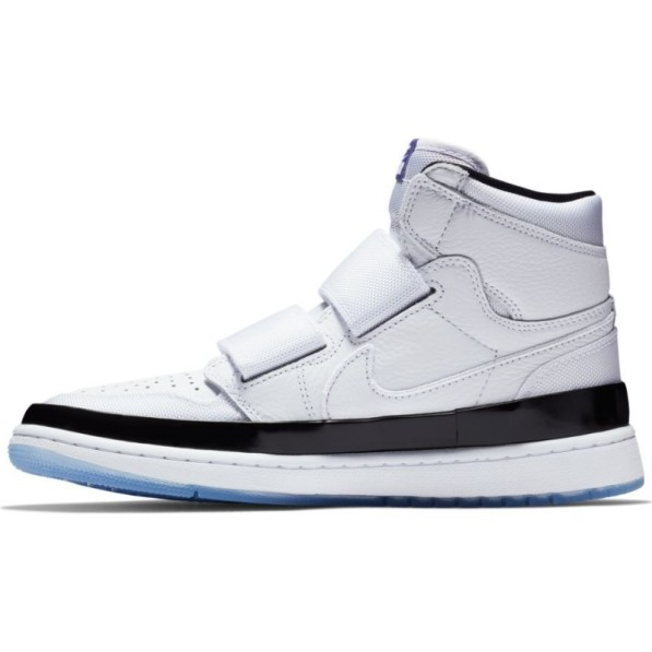 a few days away new collection 50% price Chaussure de Basket Air Jordan 1 Retro high Double Strap Blanc pour homme