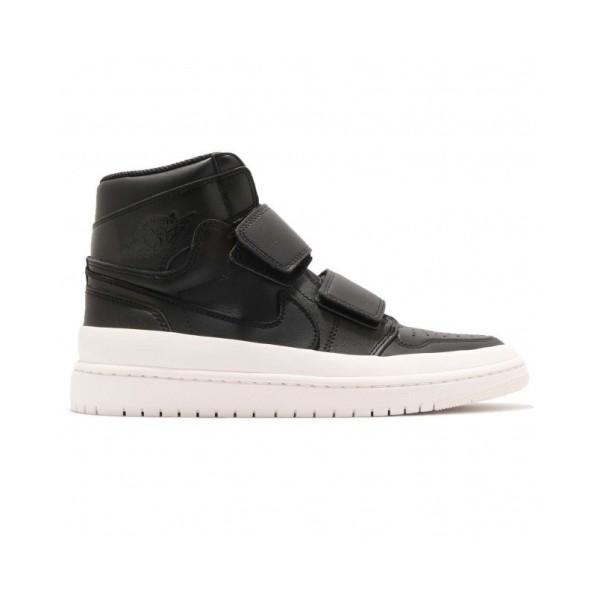 meilleur pas cher caf11 d0b0a Chaussure de Basket Air Jordan 1 Retro high Double Strap Noir pour homme