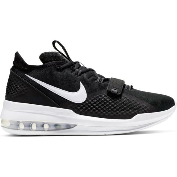 acheter en ligne 15b2a caf41 Chaussure de Basket Nike Air Force Max Low Noir pour Homme