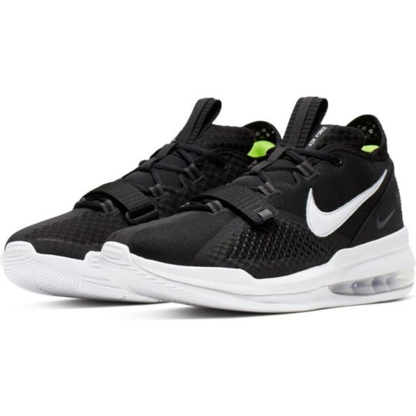 acheter en ligne 2d2e4 b112a Chaussure de Basket Nike Air Force Max Low Noir pour Homme