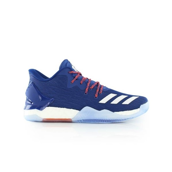 basket adidas rose et bleu