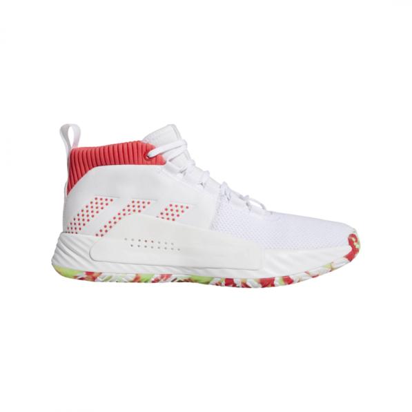 Chaussure de Basketball Adidas Dame 5 All Skate Blanc pour homme