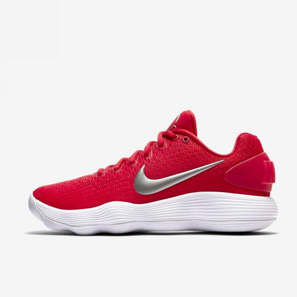 Chaussure de Basketball Nike Hyperdunk 2017 low rouge pour femme
