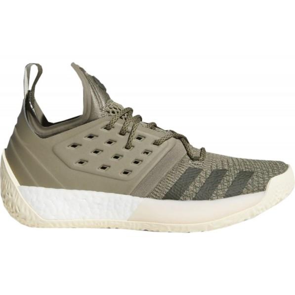 Chaussure de BasketBall Adidas James Harden Vol.2 Vert kaki Homme