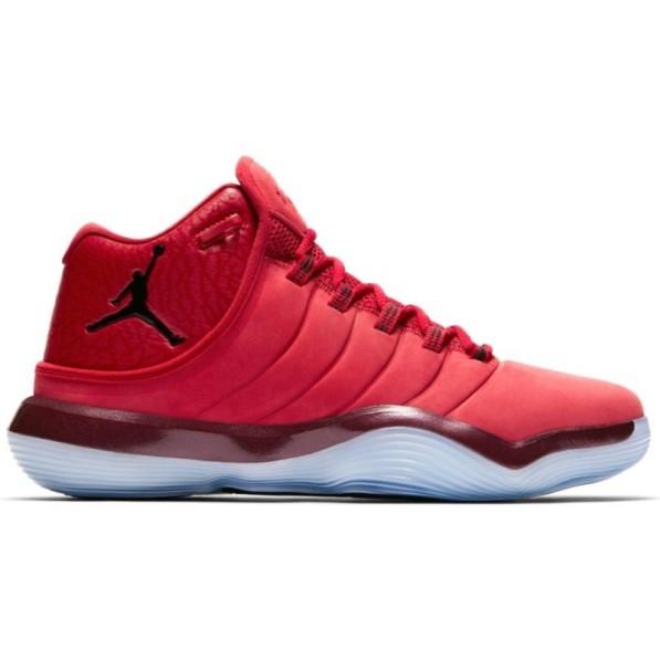 nouveau concept f098c c959a Chaussure de BasketBall Jordan Super.Fly 2017 Rouge et noir pour homme