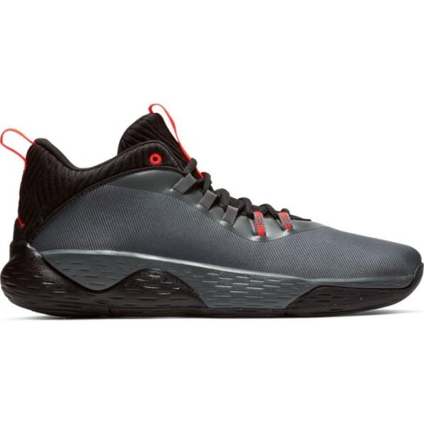 nouvelle arrivee b2ea9 ce2d7 Chaussure de Basketball Jordan Super.Fly MVP Low Gris pour homme