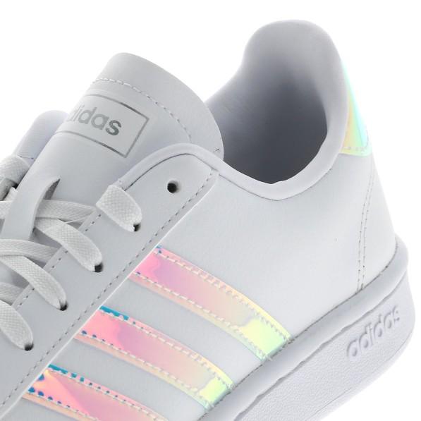 Chaussure Mode Ville Basse Femme Adidas Grand court w blc iridescent