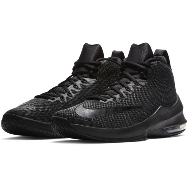 Infuriate Noires Chaussures Air Max Mid Nike eH9D2YWEI